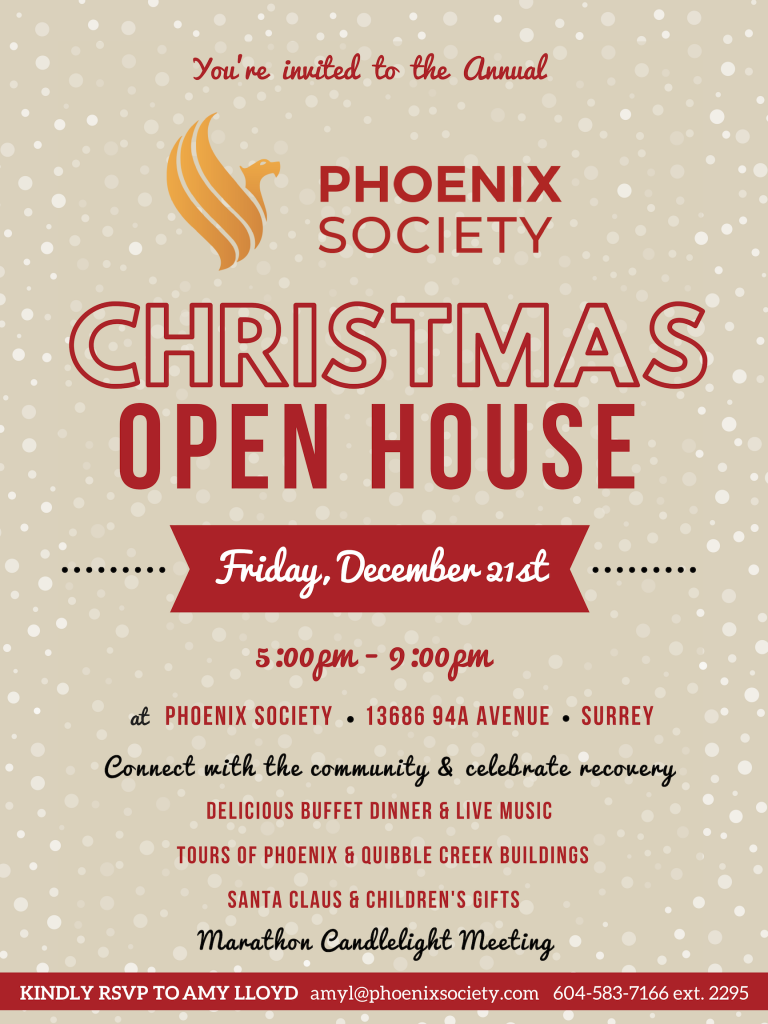 Read more on Phoenix Annual Christmas Open House 2018