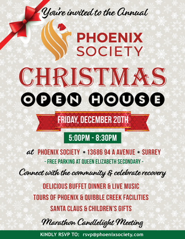 Read more on Phoenix Annual Christmas Open House 2019