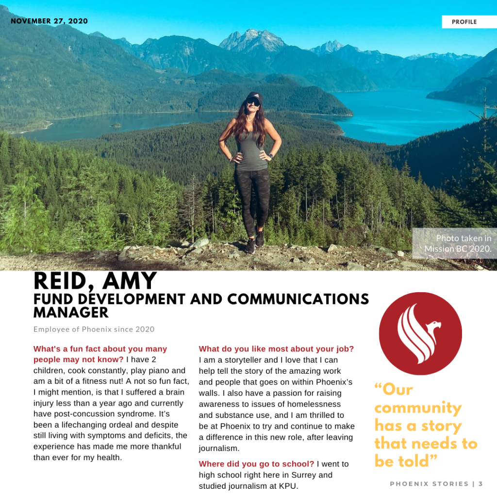 Read more on Welcome Amy Reid – Fund Development and Communications Manager