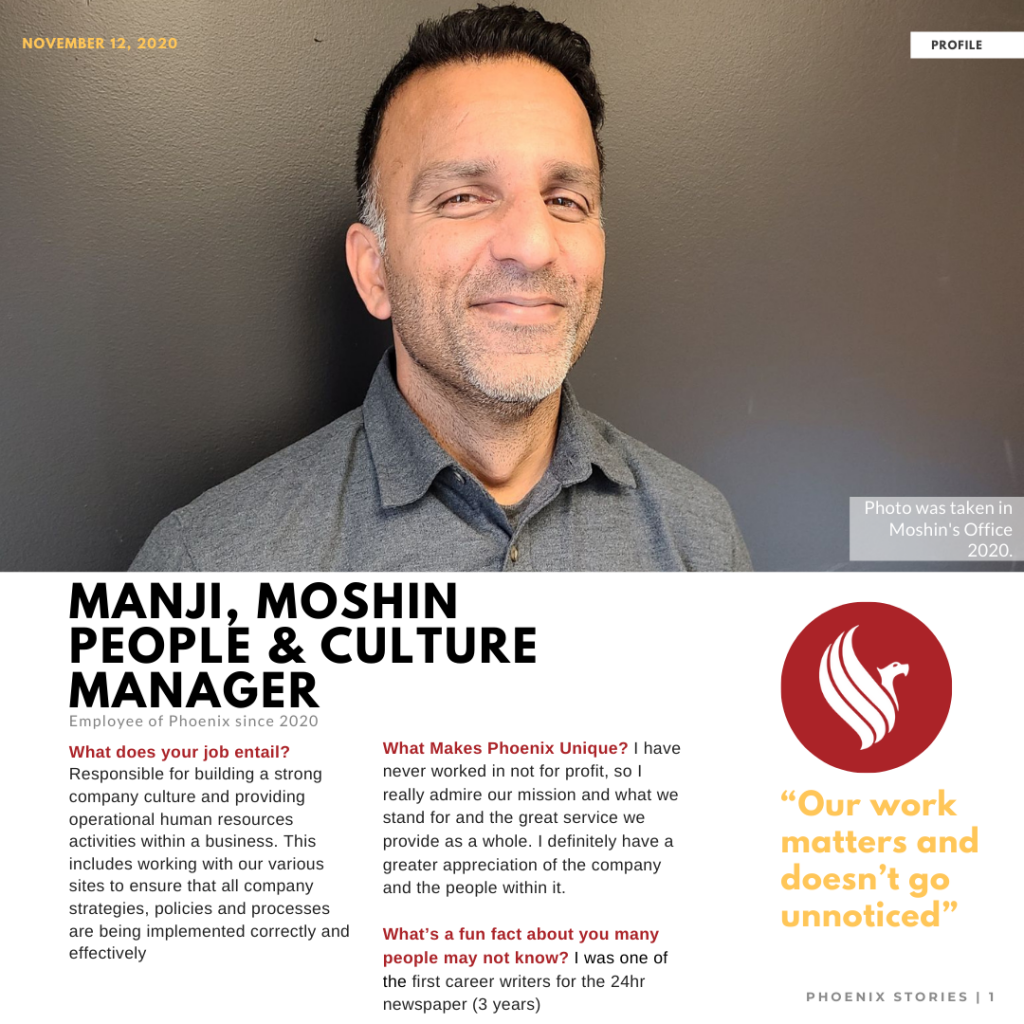 Read more on Welcome Moshin Manji – HR Manager